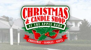 Christmas and Candles at The Apple Barn in Sevierville TN
